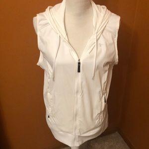 Under Armour lightweight hooded vest.